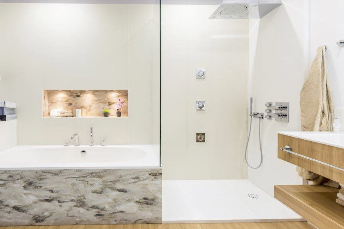 Custom Showers Counter Tops By Tom