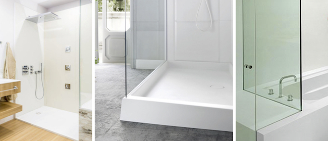 seated showers